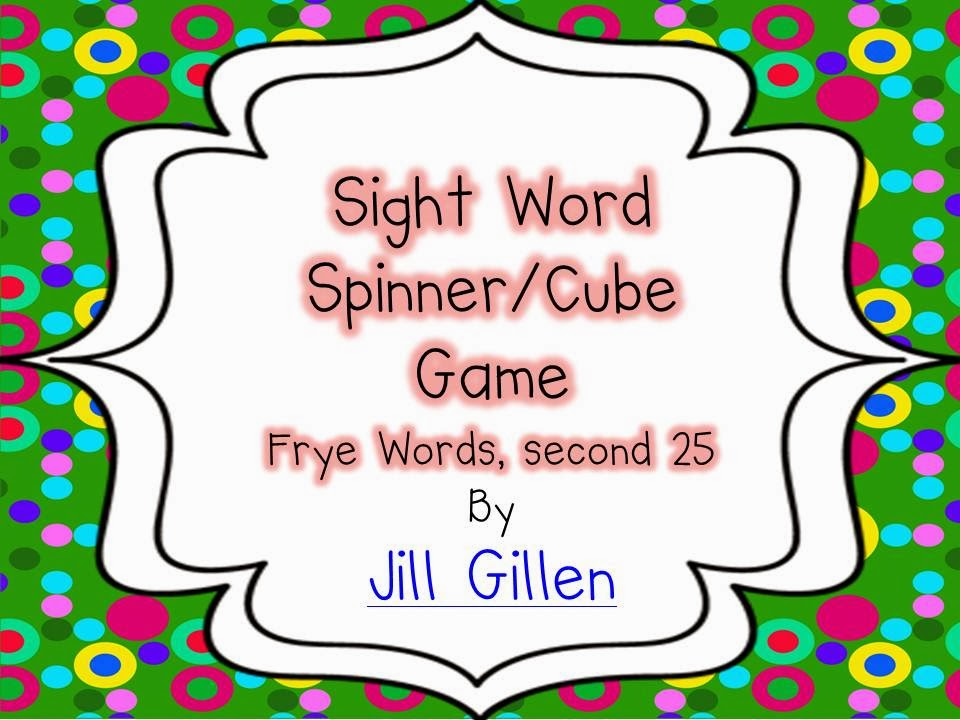 2nd set of sight words