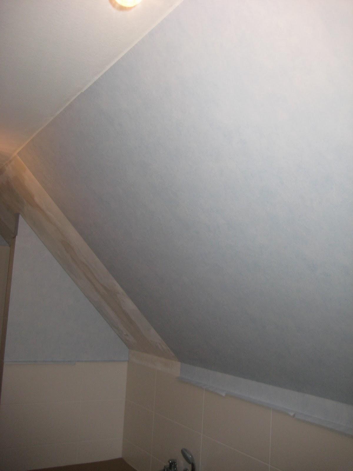 Tapezieren Der Dachschräge