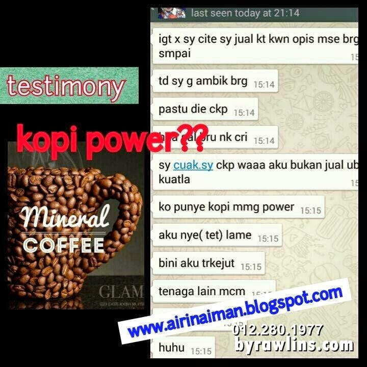 Mineral Coffee, Set Kurus Bajet, Sihat, Alzheimer, Parkinson, Tekanan, Kanser, byrawlins, sihat, kejantanan