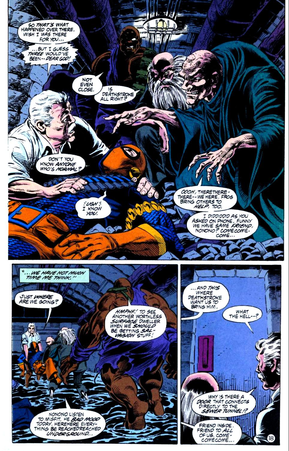 Deathstroke (1991) Issue #15 #20 - English 19