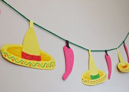 http://spoonful.com/crafts/sombrero-and-chili-paper-garland