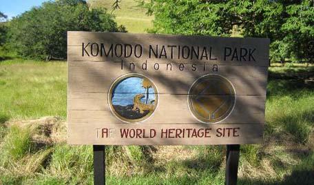 Komodo Island - a world heritage site