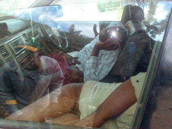 Pasangan Kekasih Hampir Maut Akibat Terlalu Asyik Bersetubuh Dalam Kereta