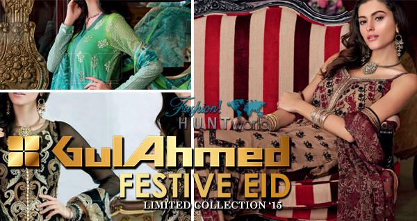 Gul Ahmed Festive Eid 2015 Catalog - Magazine