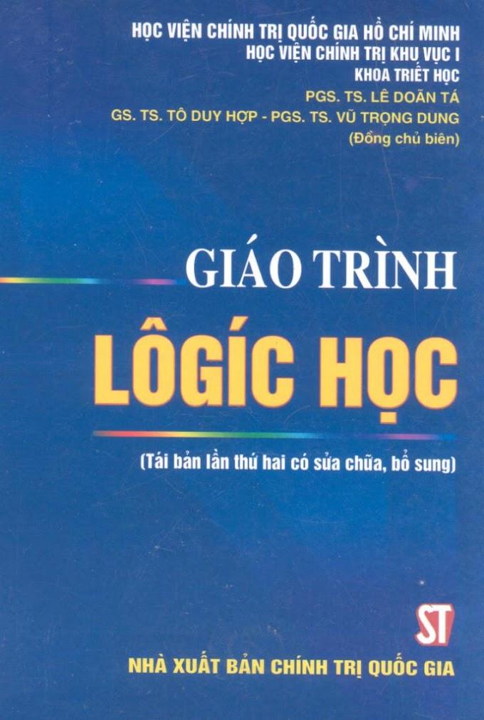Chương trình môn học logic học - Đại học Luật TP. HCM