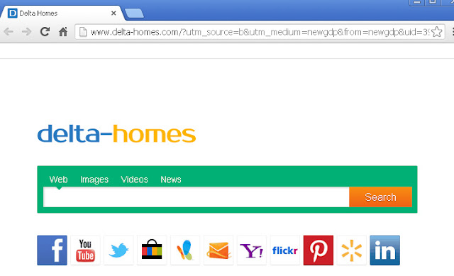 Come rimuovere Delta Homes da Internet Explorer