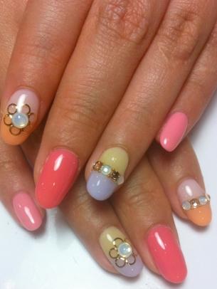kewtified simple nail art designs for springsummer 20122013