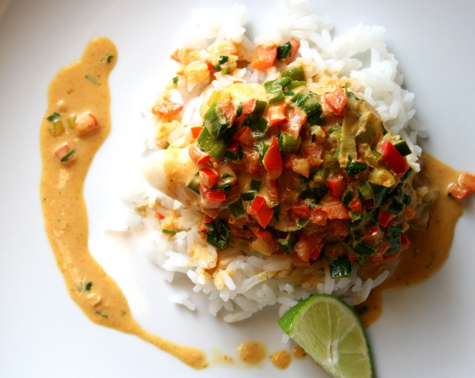 BREANNA'S RECIPE BOX: Broiled Tilapia with Thai Coconut ...