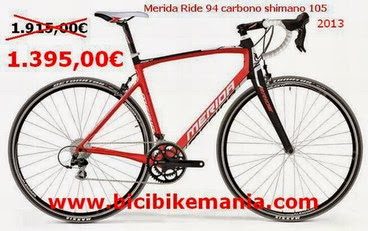 Merida Ride 94 carbono , 2013