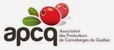 Site web de l'Association des Producteurs de Canneberges du Québec