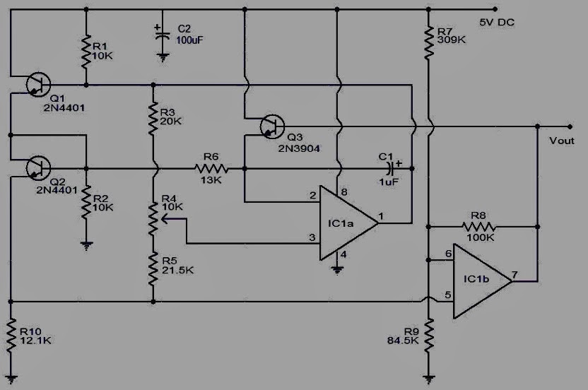 electro zone  rangkaian pengukur kecepatan udara  anemometer