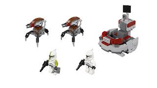 75000 Clone Troopers vs Droidekas