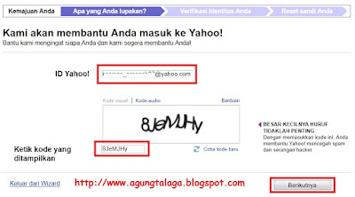 Cara Membuka Akun Yahoo Yang Terkunci Bag 2