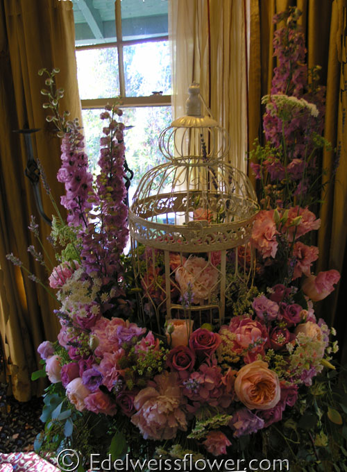Edelweiss Flower Boutique And Florist Victorian Wedding Flowers