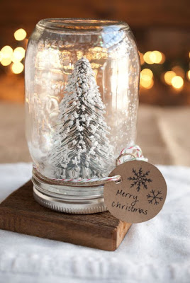 boule neige hiver Pinterest Noël mason