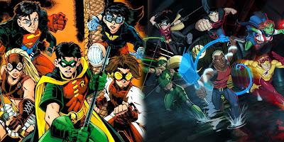 Justiça Jovem (Young Justice): quadrinhos vs desenho animado