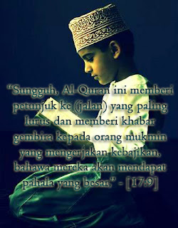 Remaja Islami : Membaca Al-Qur'an Menenangkan Pikiran