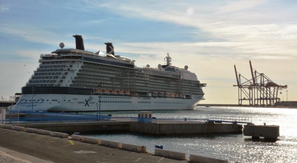 Port of Malaga Celebrity Cruises