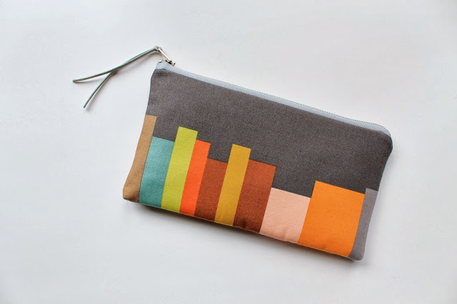 color block clutch purse