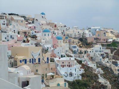 santorini greece holiday
