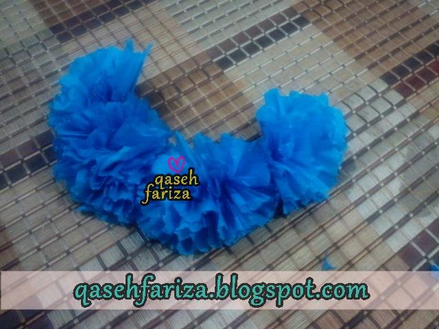DIY : bunga crepe
