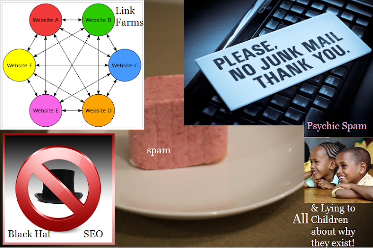 Spam Blogs at the University of the Internet Genius Art Form
