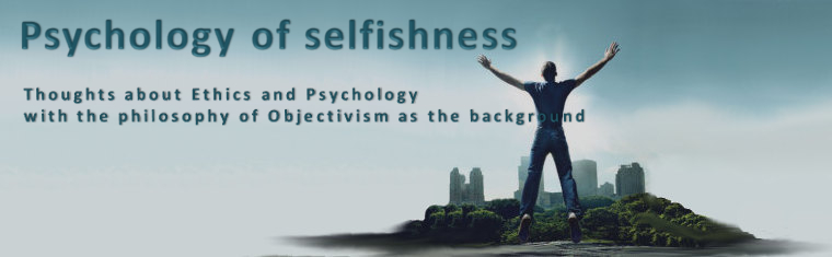 Psychology of Selfishness