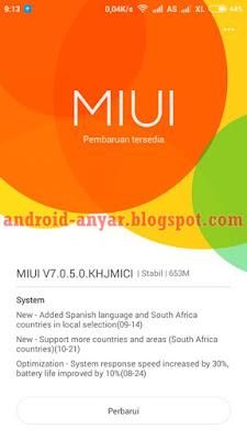 Cara Instal Upgrade MIUI 7 Xiaomi Redmi 2 atau Redmi 2 Prime Terbaru Lengkap