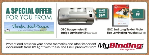 MyBinding laminator sale