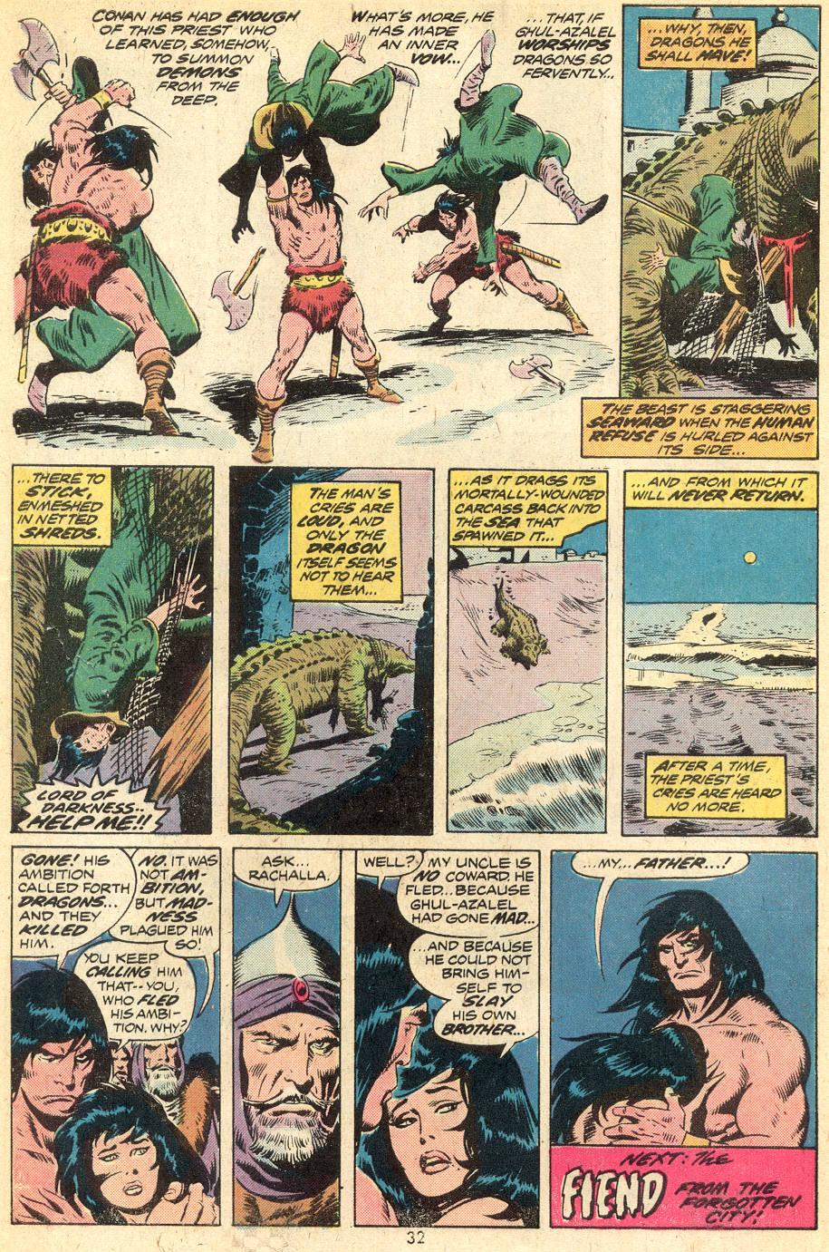 Conan the Barbarian (1970) Issue #39 #51 - English 20