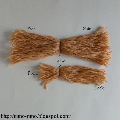 Hair yarn