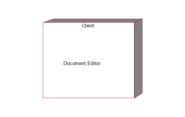 uml and design patterns  document editor uml diagrams