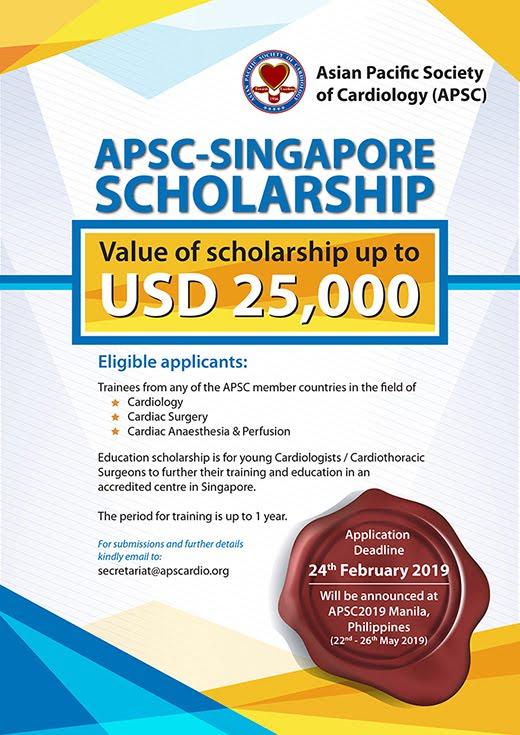 APSC SINGAPORE SCHOLARSHIP 2019