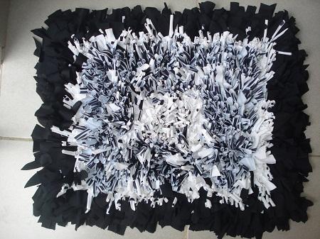 Alfombras recicladas accesorios de decoraci n - Telas para alfombras ...