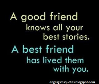 English Quotes About Friendship Classy A Good Friend Friendship Quotes  English Sms & Quotes