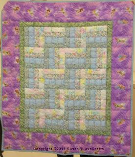 Riding the Rails quilt - Sandy