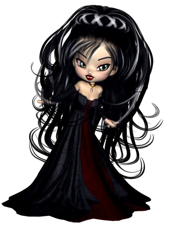 Image of gothic women