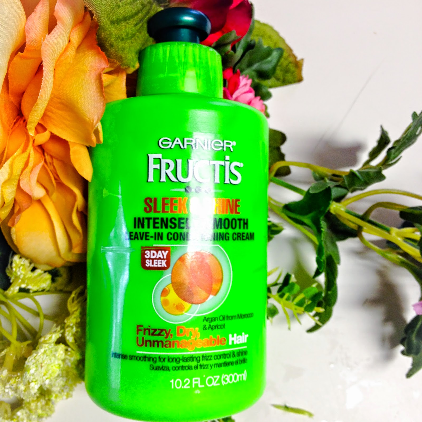 Garnier Fructis Sleek & Shine Intensely Smooth Leave-In ...