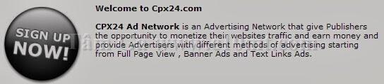 CPX24 Site kiếm tiền từ hình thức CPM lâu đời