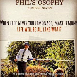 When life gives you lemonade, make lemons!