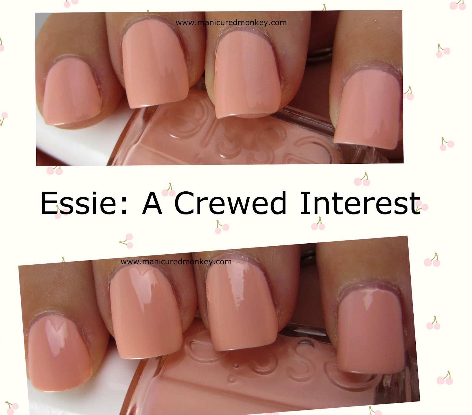 The Manicured Monkey: Essie: A Crewed Interest A Crewed Interest Essie