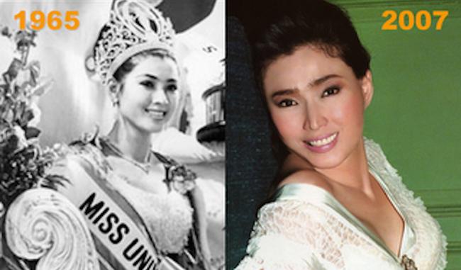 Bekas Miss Universe Thailand Langsung Tidak Kelihatan Tua Selepas 50 tahun