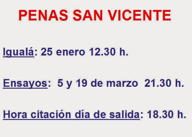 PENAS SAN VICENTE