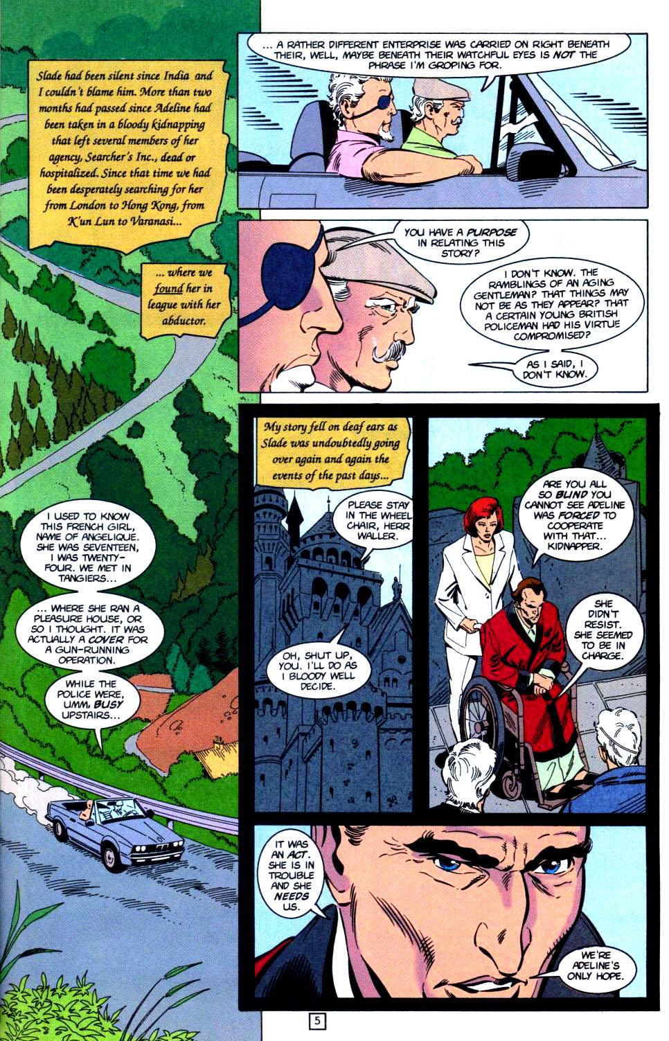 Deathstroke (1991) Issue #32 #37 - English 6