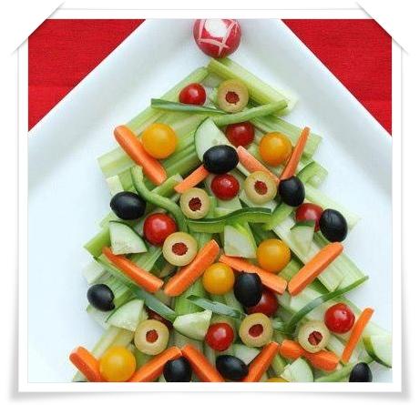 Arte de mam nochebuena y navidad platos originales y for Ideas ensaladas originales