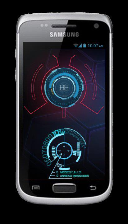 Homescreen J.A.R.V.I.S. - Iron Man at Android