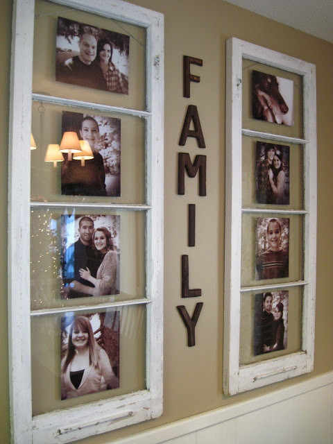 Family Picture Frame Display