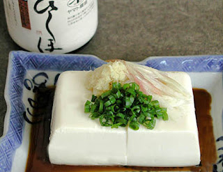 Silken tofu cold recipe