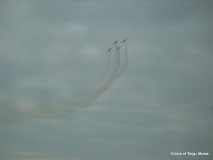 Planes formation. Zbor in formatie la Aeroclub, Aerodromul Teritorial