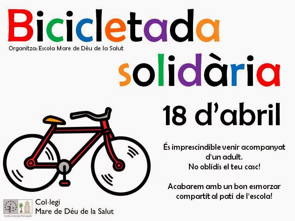 Bicicletada Solidària